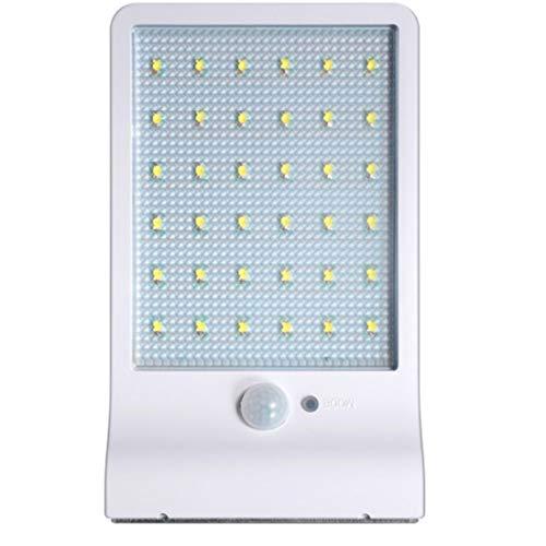 Mike Wodehous Lámpara de pared Modernas luces de pared solares, luces impermeables IP65 Luces con sensor de movimiento 36 LEDS 3 modos Luces de seguridad for patio, terraza, patio, jardín