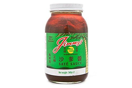 Jimmys Zustand/Satay Sauce - 360G