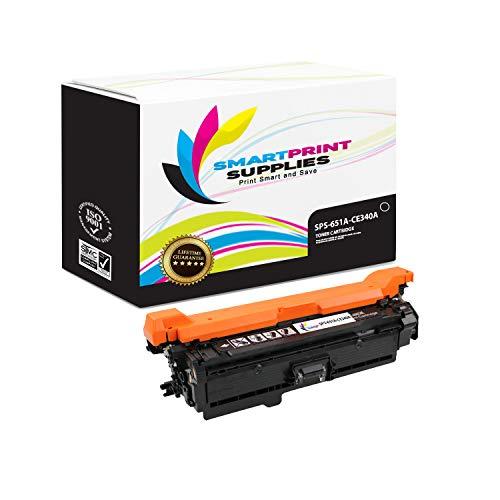 Smart Print Supplies Compatible 651A CE340A Black Toner Cartridge Replacement for HP Color Laserjet MFP M775 M775D, Enterprise 700 M775DN M775F M775Z+ Printers (13,500 Pages)