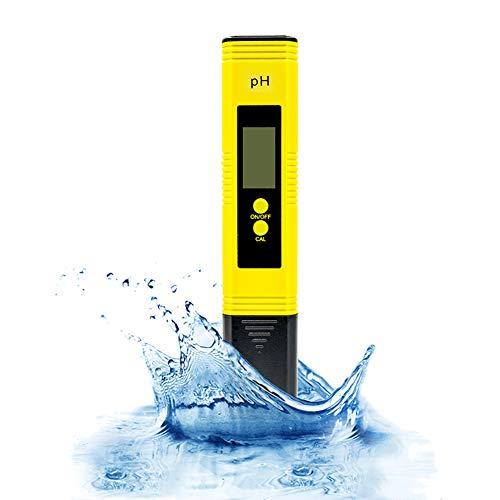 PH Messgerät,Digital PH Wert Messgerät mit LCD Anzeige und Hoher Genauigkeit Wasserqualität Tester 4 in 1 Set,Digital PH TDS EC Temperatur Tester für Trinkwasser/Schwimmbad/Aquarium/Pools
