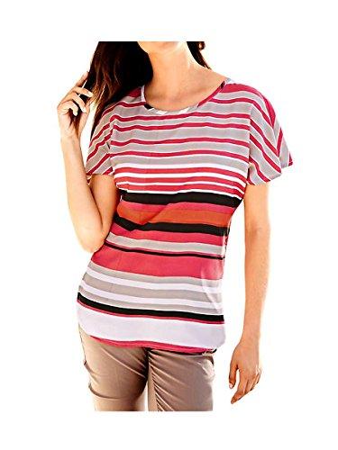 Heine - Best Connections Damen-Bluse Blusenshirt Mehrfarbig Größe 38