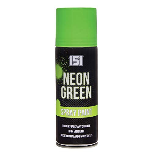 4x verde brillante fluorescente neon vernice spray 151200ml auto Car alta visibilità di sicurezza