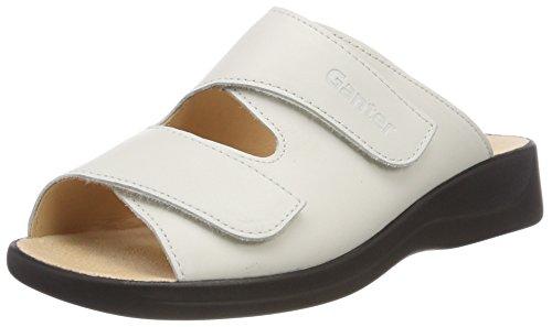 Ganter Damen Monica-g Pantoletten, Weiß (Weiss), 34 EU (2 UK)