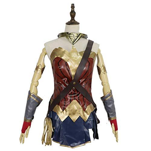 Wonder Woman Cosplay Costume Costume Halloween Dress Up Batman Wars Superman,S