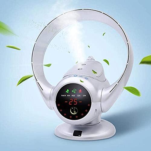 aire acondicionado, Evaporación Cooler Air Multiplicador Blackless Ventilador, Escritorio Ventilador Torre Ventilador Humidificador Purificador de aire Tranquido Oscilating Control remoto Ventilador d