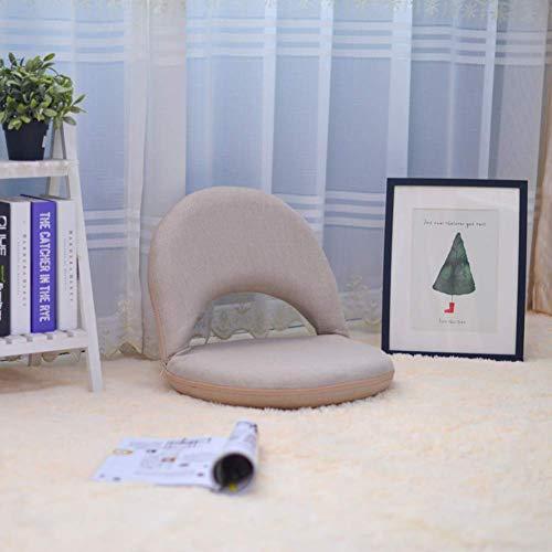 YLCJ Tatami Asientos Plegables en el Suelo Silla Plegable para el Suelo Silla de meditación-C