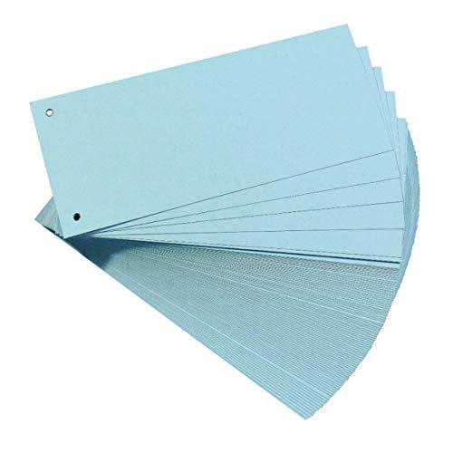 Oxford Trennstreifen, 400153812 Karton, farbig, blau, 100 Stück