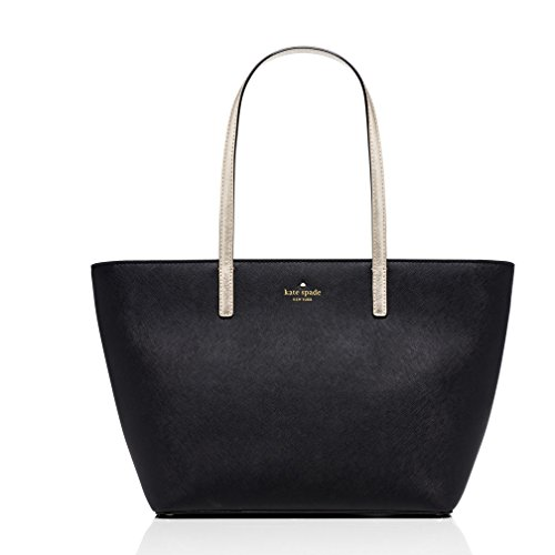 Kate Spade New York Gallery Drive Small Harmony Tote,Black/Gold