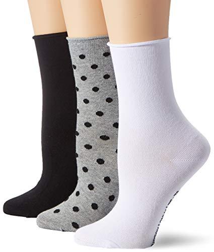 Hudson Damen Wild Dots 3Pack Socken, Mehrfarbig (Set 3 0879), 39/42 (3er Pack)