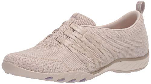 Skechers Damen Breathe-Easy Approachable Sneaker, Nat, 39 EU