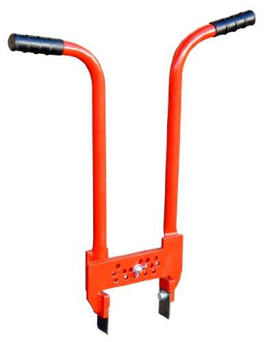 Outifrance 8839017 Extracteur de pavés autobloquants, Rouge
