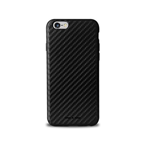 Independent IIIPC655CARBONBLK Italia - Cover per Apple iPhone 6 plus/ 6S-Plus, effetto fibra di carbonio, colore: nero