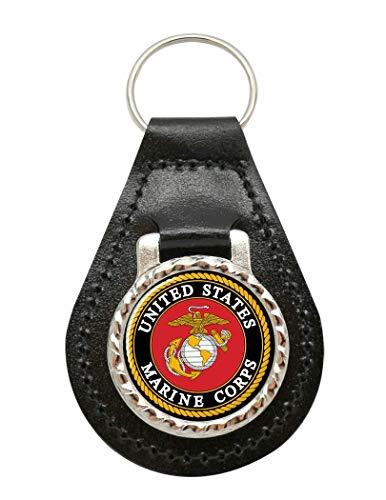 Giftshop UK Estados Unidos Marine Corps Cuero Llavero