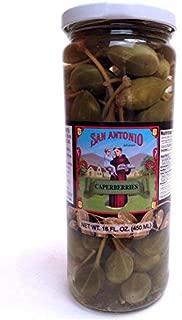 16 oz Imported Caperberries (Caper Berries) in Vinegar and Salt Brine