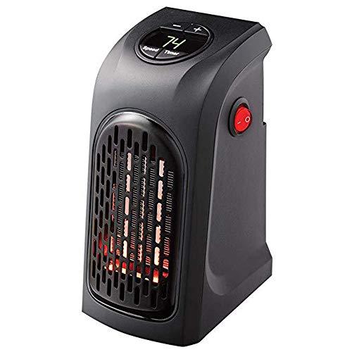 FC-Winter Mini Handy Heater Plug-in, 400W Riscaldatore a Parete Stufa Scaldamani Hotel Cucina Bar Bagno Auto Viaggia 110-220 V