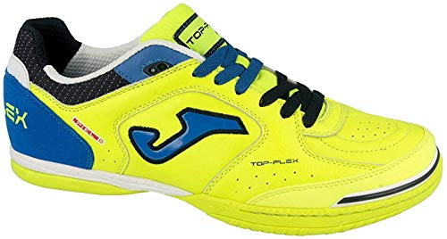 Joma Top Flex, Scarpe Da Calcetto Unisex – Adulto, Giallo (Lemon), 42 EU