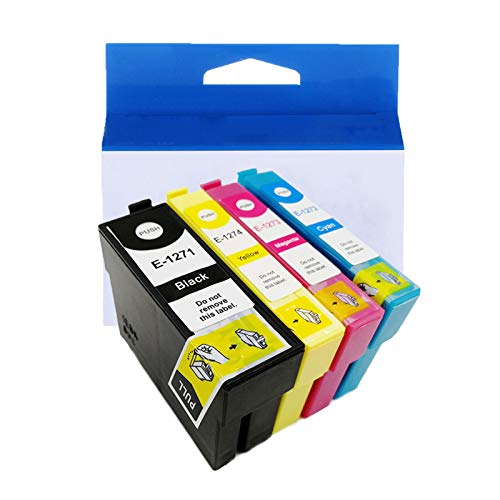 JZMY T1271 T1272 T1273 T1274 Cartucho de tinta para Epson Stylus NX530 NX625 Workforce 60 545 630 840 WF-3520 WF-7010 Service