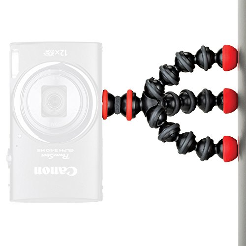 JOBY JB01504-BWW GorillaPod Magnetic Mini Stativ (mit Magnetfüßen für Point-&-Shoot, Kleine Kameras, Kompaktkameras, Blitz, Mikrofone, Action Kameras)