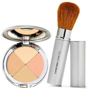 Christina Cosmetics Perfect Pigment 1 Compact and Retractable Brush Duo Review