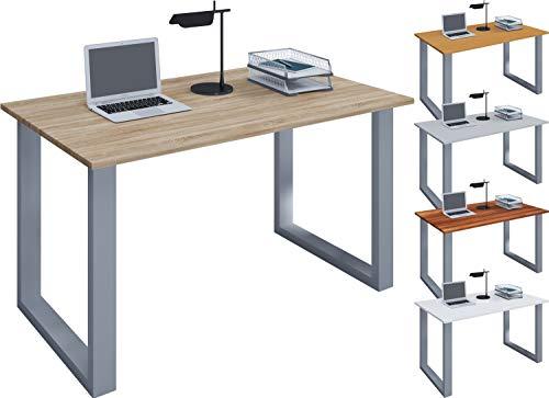VCM Schreibtisch Computertisch Arbeitstisch Büro Möbel PC Tisch Lona 80 x 50 cm: Sonoma-Eiche
