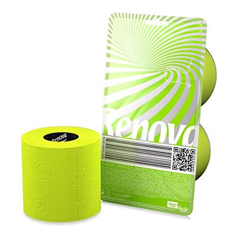 RENOVA Papel Higiénico Verde - Pack Regalo 2 Rollos