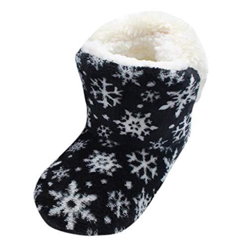 JujiaShoes Sconti Natale Ciabatte Donna Natalizie Pantofole Donna Natalizie Stivali Babbo Natale Pantofole Antiscivolo Donna Scarpe Comode Donna Scarpe Basse Donna Eleganti