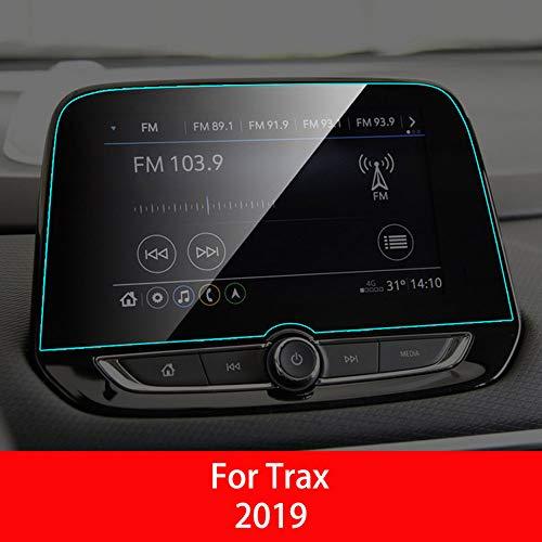 LUVCARPB Protecteur d'écran de Navigation pour Voiture, adapté pour Chevrolet Malibu Trax Cruze Malibu XL, Protection Transparente pour écran en Verre trempé 9H