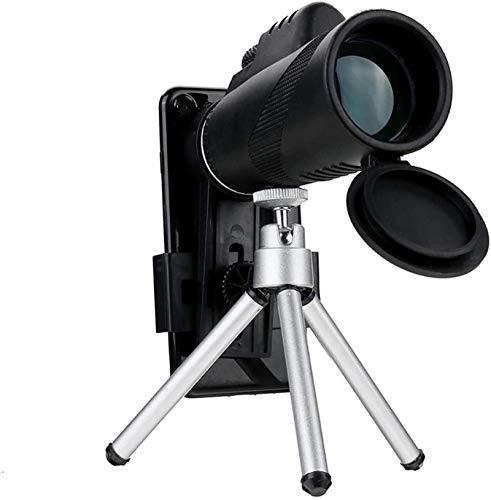 Monokular Starscope Teleskop,40X60 High Power Monokular Fernglas HD mit universellem Smartphone-Halter für Erwachsene Vogelbeobachter Golfer