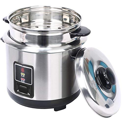 Household 3L 4L 5L 6L Thickened External Stainless Steel Steamer Rice Cooker, All Stainless Steel Steamer One-button Control Stainless Steel Inner Pot, Suitable For 1-5 People Multi-function All-steel