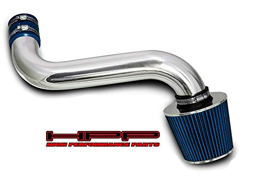 High Performance Parts Short Ram Air Intake Kit & Blue Filter Combo Compatible for 92-95 Chevrolet S10 / Blazer/GMC Jimmy/Sonoma / 92-94 Oldsmobile Bravada 4.3L V6 CPI (Vortec CPI Engine Only)
