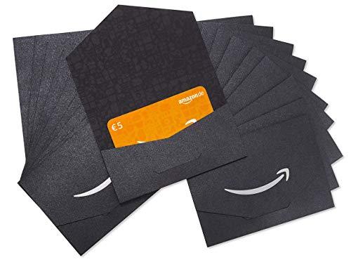 Amazon.de Geschenkkarte im Multi-Pack - 20 Geschenkkarten - 5 EUR (Schwarz und Silber)