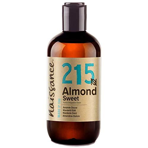 Naissance Aceite de Almendras Dulces n. º 215 – 250ml - 100% natural para humectar y equilibrar...
