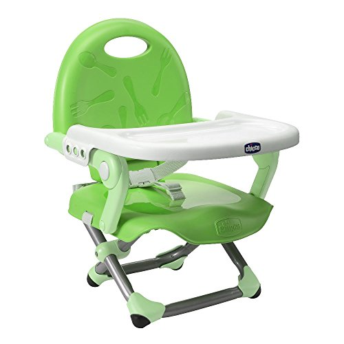 Chicco Pocket Snack - Asiento elevador, color verde
