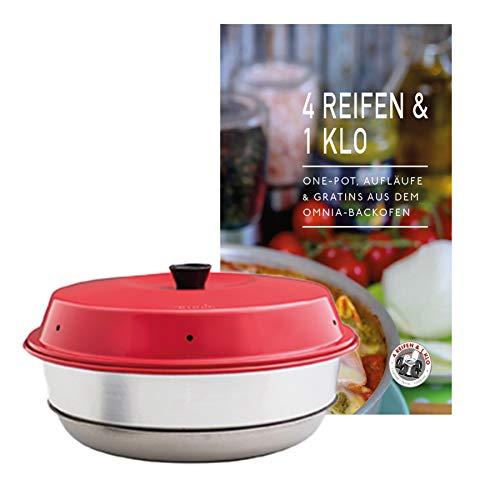 4 Reifen 1 Klo Omnia Backofen 2-teiliges Spar-Set | Omnia Backofen + One-Pot, Aufläufe & Gratins Kochbuch