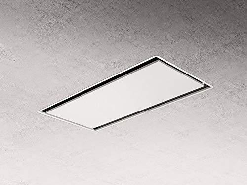 Elica ILLUSION H16 WH/A/100 - Cappa da cucina da soffitto, larghezza da 100 cm, colore bianco