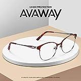 Zoom IMG-1 avaway eleganti occhiali in metallo