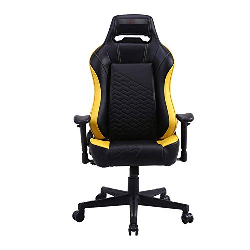 Video Game Chair,Rotating Ergonomic PU Leather Gaming Chair Swivel Computer Office Or Gaming Chair Desk Chair (Color : Picture Color, Size : 67X67X125CM) with Backrest