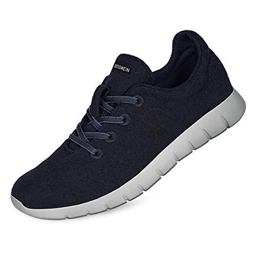 Giesswein GIESSWEIN Merino Runners Women - Atmungsaktive Sneaker für Damen aus 100% Merino Wolle, Sportliche Schuhe, Halbschuh, Freizeitschuh, Damenschuhe