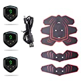 WEARRR Smart EMS Muscle Muscle Stimulator Electric Pulse Tratamiento Massager Home Fitness Muscle Abdominales Deportes Equipo...