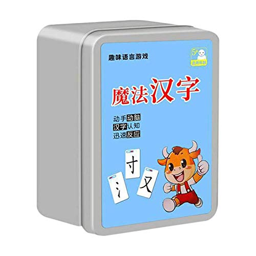 Magic Chinese Characters Puzzle Card Chinese Learning Tools Radical Combination Literacy Card Multiplayer Board Game Parent Child Game