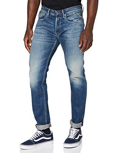 Replay Herren WILLBI Jeans, 007 Dark Blue, 3232