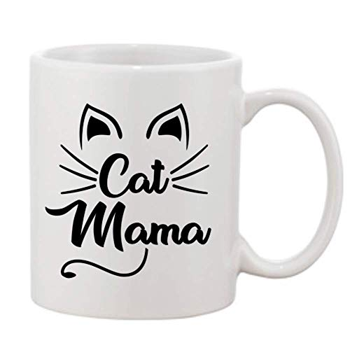 Cat Momma Mug For Feline Moms Who Are Cat Lovers - Best Coffee Mugs For Cats Mom Best Present Gift Ideas For Funny Animal Lover - Coffee and Tea Cups For Birthday Christmas Mothers Day Unique Mama Cup