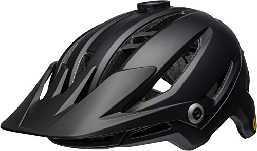 BELL Unisex-Erwachsene Sixer MIPS Fahrradhelm, mat/Gloss Black, M