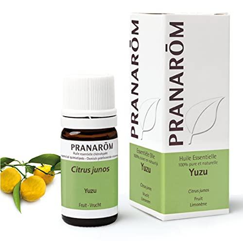 Pranarom 007760827 Yuzu, Aceite Esencial Natural, 5 ml