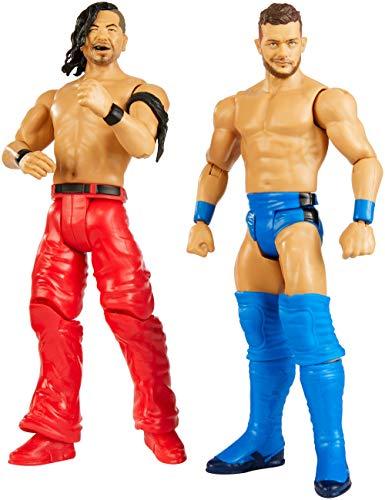 Mattel WWE-Pack de 2 Figuras de acción Luchadores Finn Balo