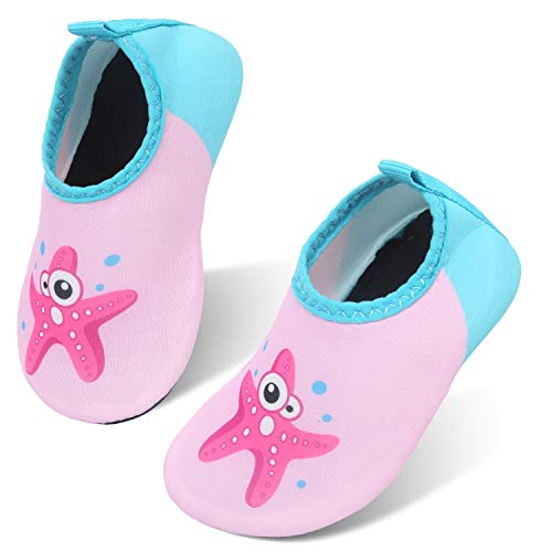 storeofbaby Baby Girl Athletic Water Shoes Quick Dry Sand Socks for Swim Beach