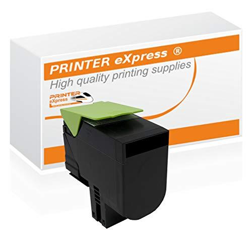 Printer-eXpress Toner ersetzt Lexmark 71B20K0 für CS317 CS317DN CS417 CS417DN CS517 CS417DE CX317 CX317DN CX417 CX417DN CX517 CX417DE schwarz