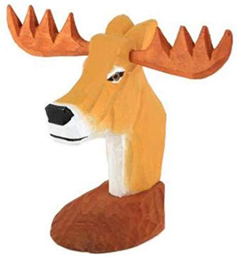 AIJOAN-BJ Estatuillas Decoracion Estatuas Decorativas Gafas Estante Soporte Gafas De Sol Expositor Animal Creativo Joyería De Madera Maciza Regalo Gafas Tienda Adornos