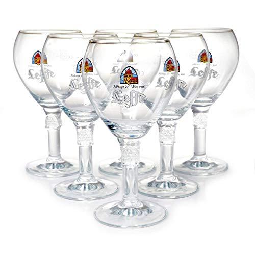 6er Set Original Leffe Glas 0,33cl