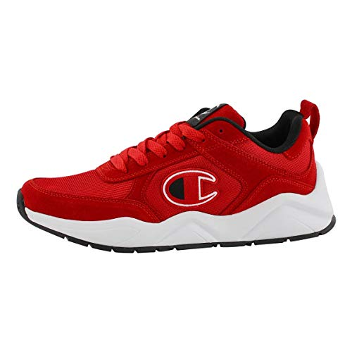 Champion Men's 93Eighteen Lace Up Sneaker Red 10.5 M US